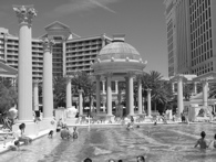 See details of Caesars Hotel and Casino pool area