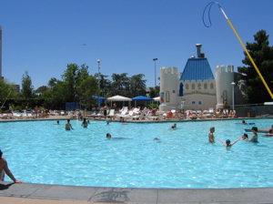 Pool At Excalibur Hotel Amp Casino Las Vegas